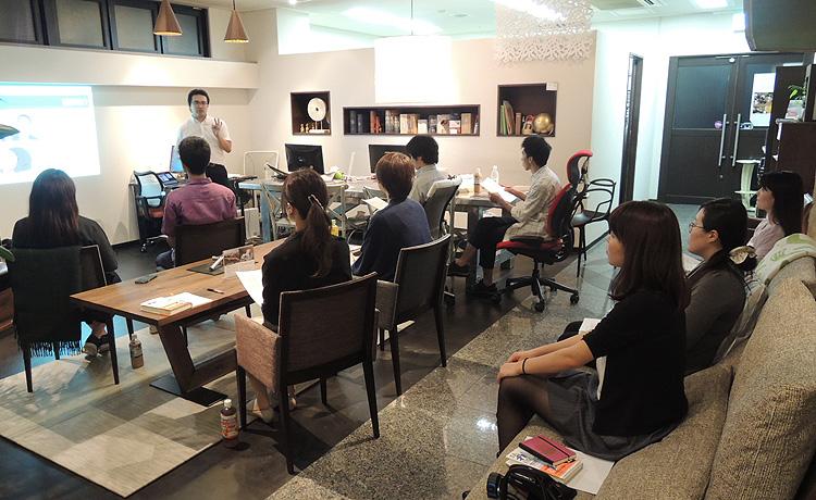 大阪マルキン家具、セミナー風景