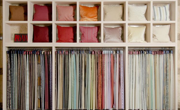 大阪ショールーム ファブリックは3000種類からのテキスタイル