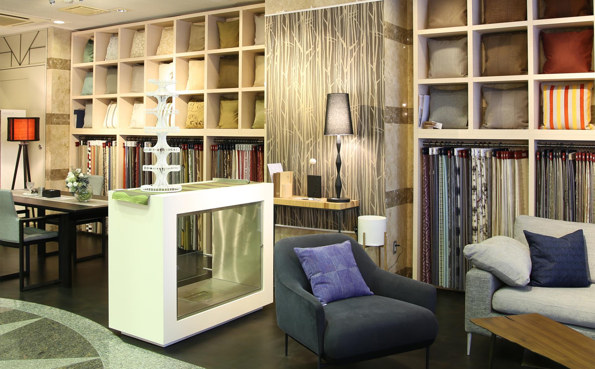 1階の家具インテリアショールームの画像4