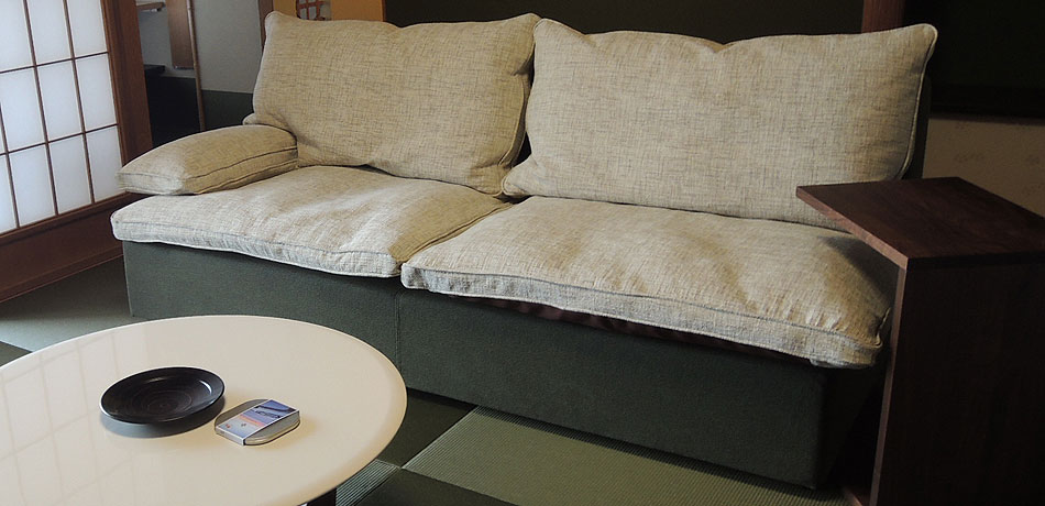 E-sofa イーソファー テキスタイル
