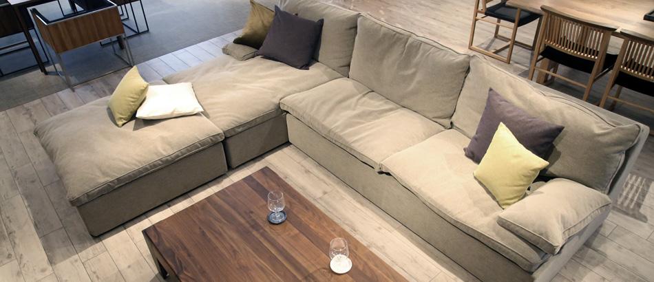 E-sofa イーソファー展示