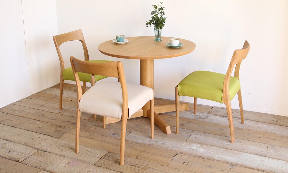 円形 ダイニングテーブル 選び方 使い勝手 メリット サイズ