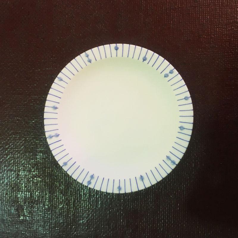 大道宏美さんの豆皿 雨