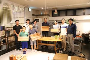 十津川村の杉で「スギボックス」を作ろう 1日目の写真