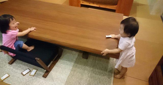 1枚板の座卓