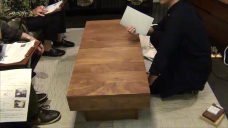 木製家具 オイルメンテナンス