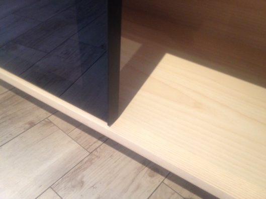 dual living board スライド部