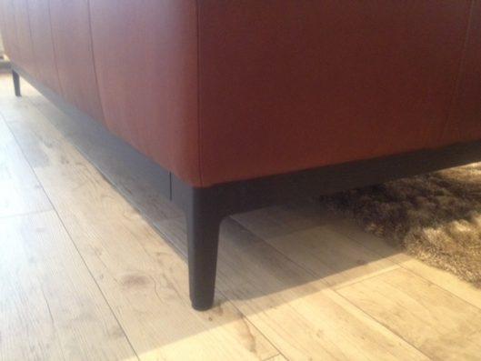 dual sofa 3P leather 脚