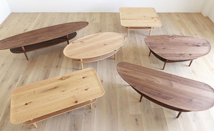 ローテーブル選びのポイント、デザインは好みで決める