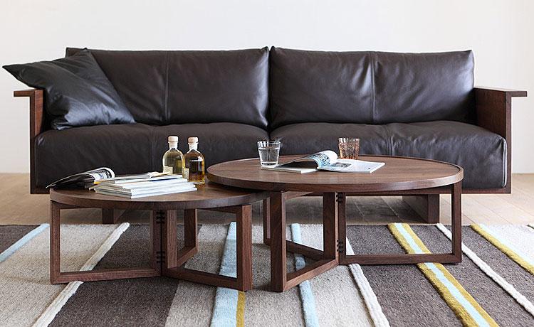 ローテーブル選びのポイント、高さは座って過ごすなら36cm以下が使い勝手がよく、ソファならそれ以上が良いかと思われます