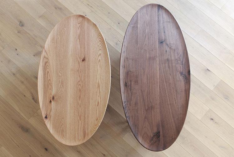ローテーブル選びのポイント、ユニークな形は、お部屋のアクセントとなるでしょう