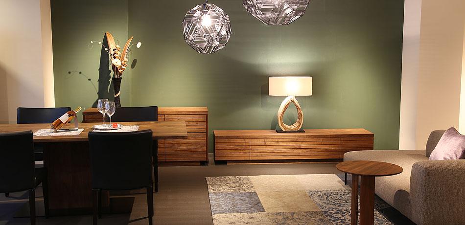 オーダー家具 家具の展示の様子