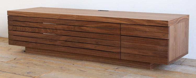 オーダー家具 テレビボード、おしゃれな格子デザイン