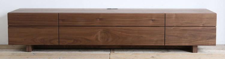 オーダー家具 テレビボード、おしゃれなフラットデザイン