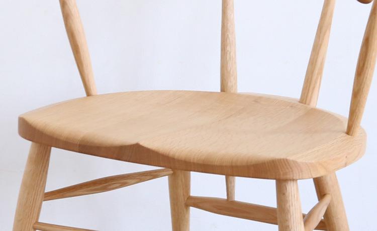 板座の椅子の座面・ざぐり加工