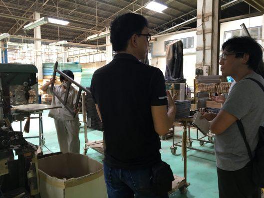 日本の工場