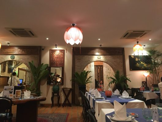ベトナム料理のお店 「Le Dalat」内観