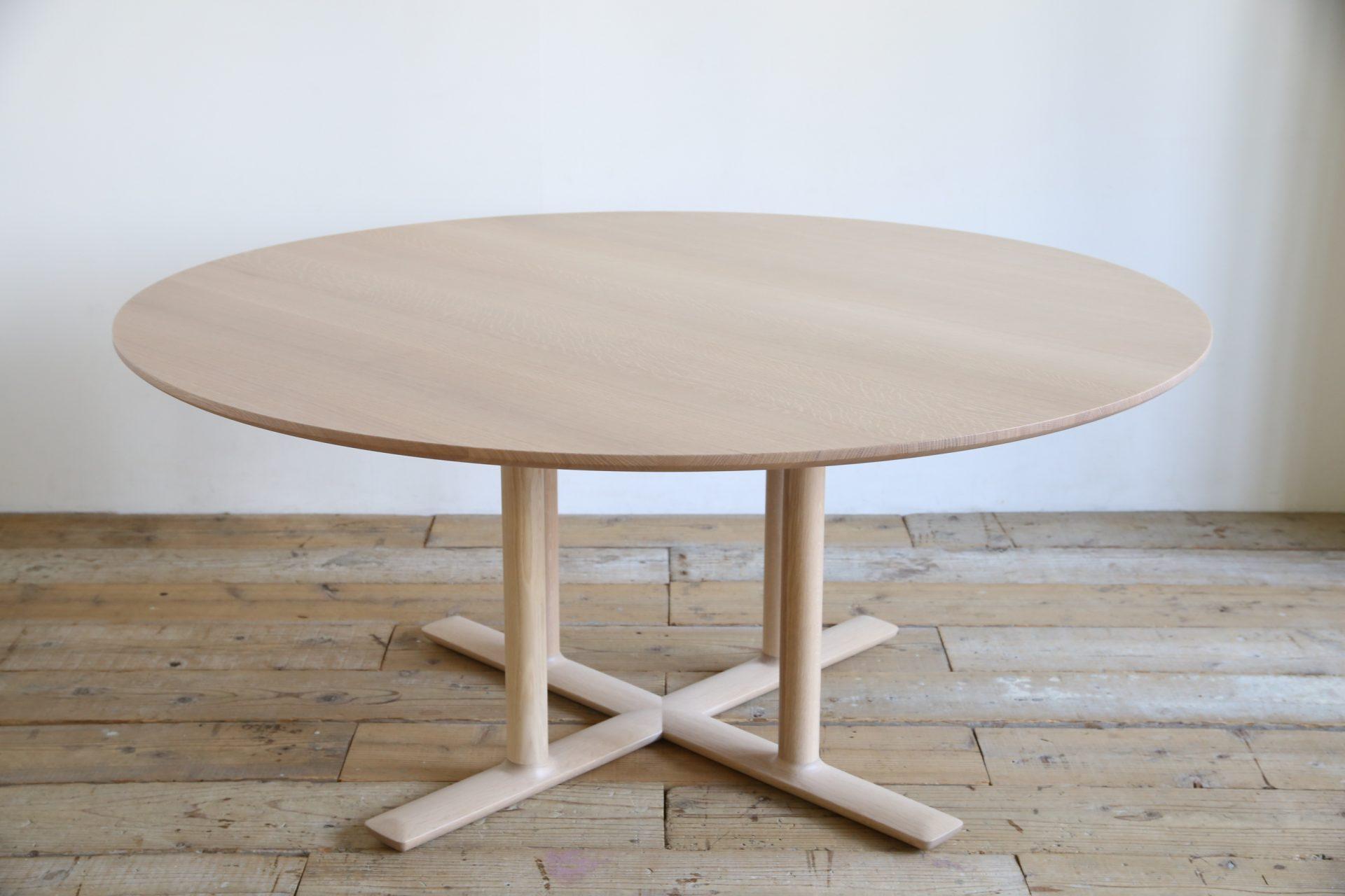 日進木工 CHORUS コーラス プロダクトデザイナー 松岡智之デザイン ダイニングテーブル ラウンド