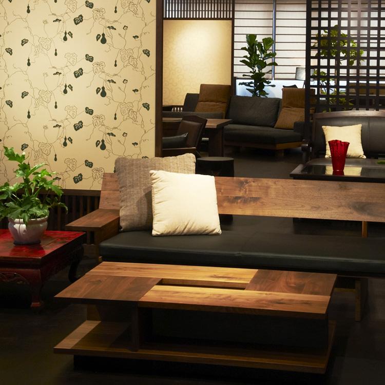 2011年の大阪マルキン家具、2階リニューアル後