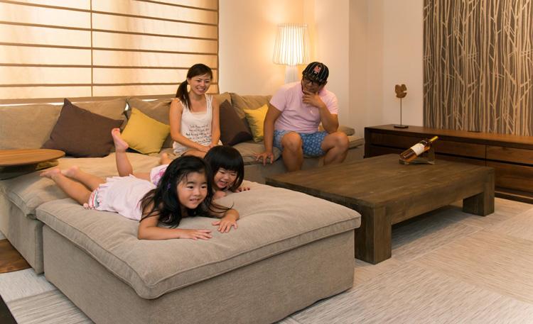 E-sofa イーソファー サイズ感イメージ