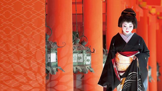 新年の宴 ― 芸妓 菊乃がマルキン家具へやってくる ―