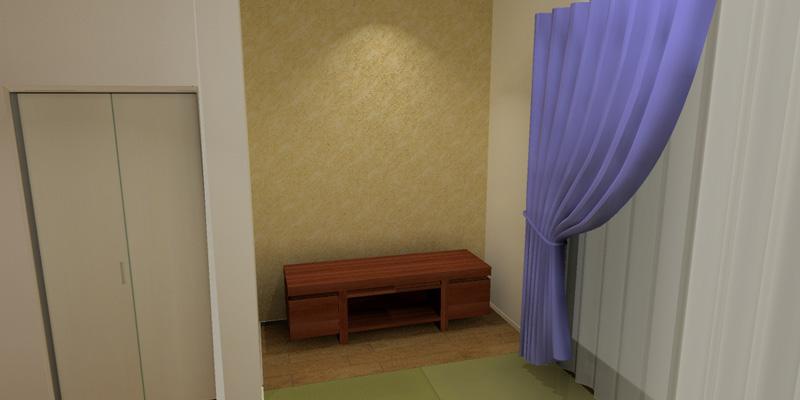 家具の設置イメージ、サイズ感