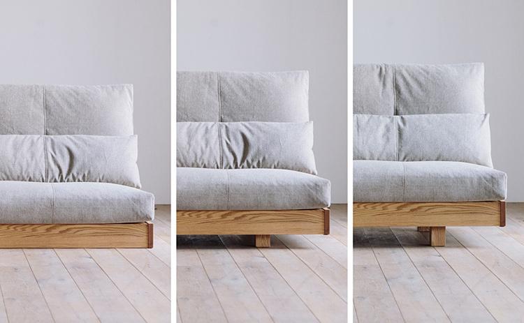 ヒラシマ リベリア ハイバックソファー座面のイメージ