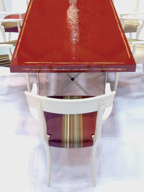 URUSHI うるし ダイニングテーブル 赤