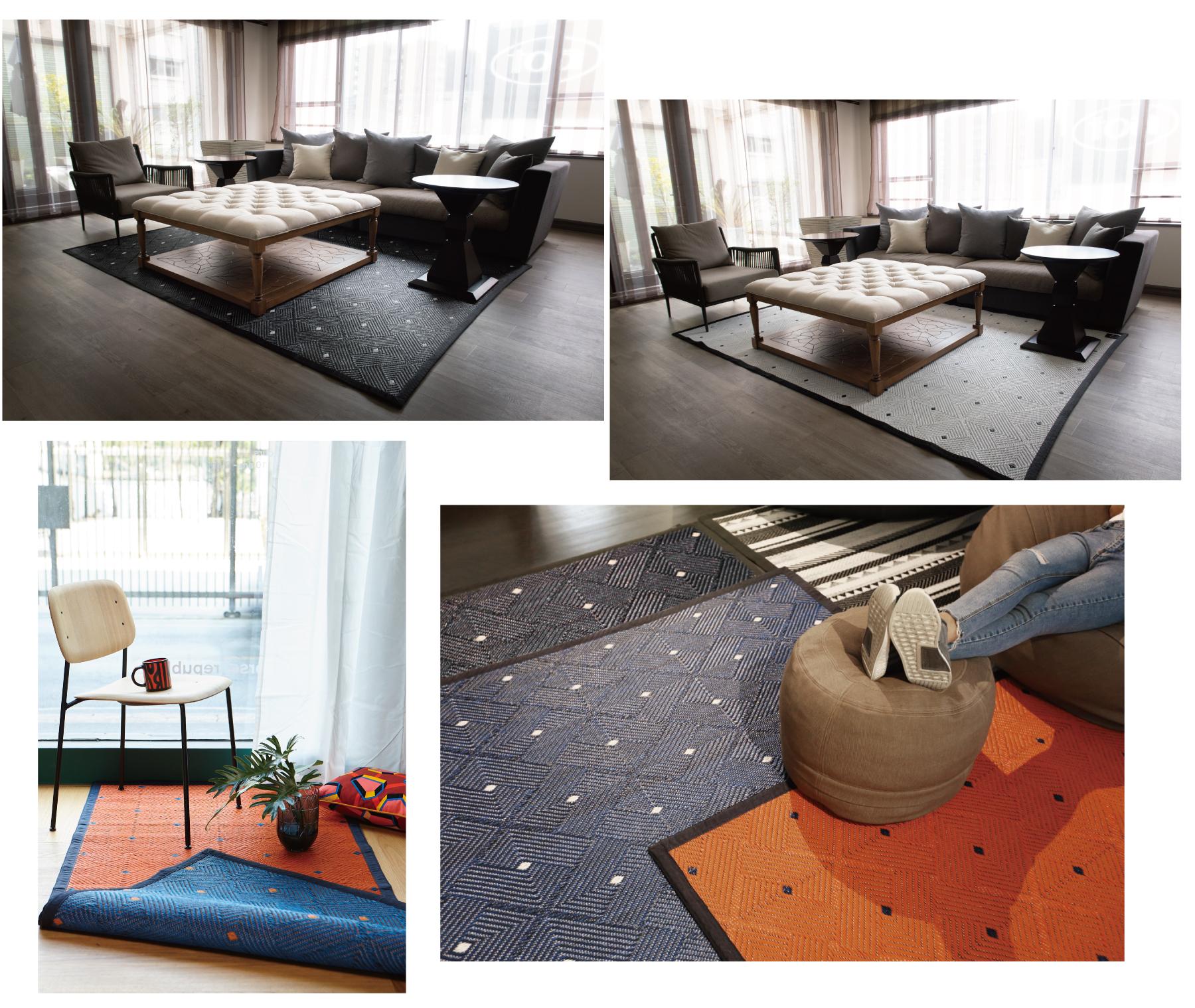 気軽にお部屋の雰囲気を変えられるリバーシブル仕様