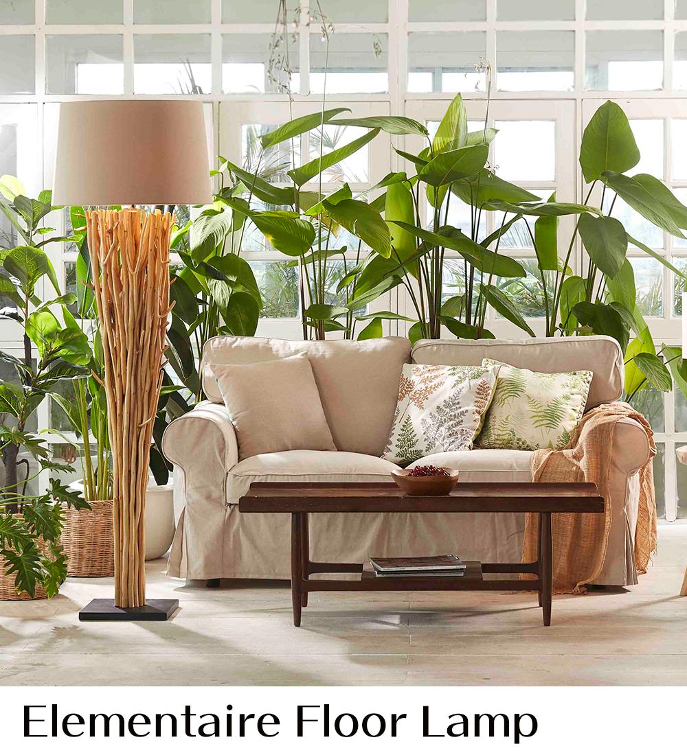 ラクスツリー照明、Elementaire-Floor-Lampの販売ページ