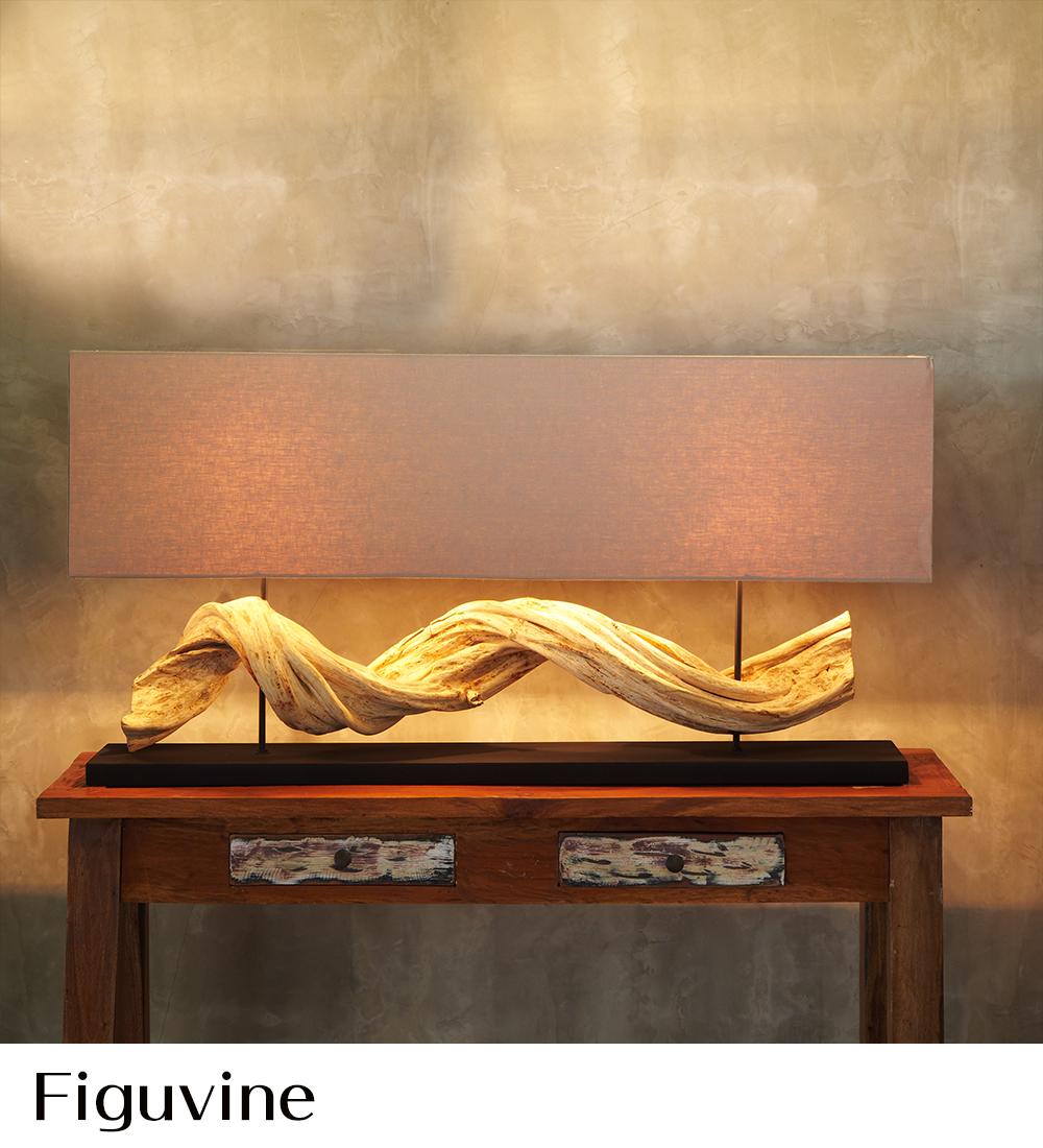 ラクスツリー照明、Figuvine-Lampの販売ページ