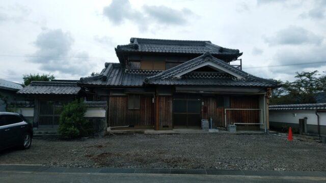 解体直後の建物